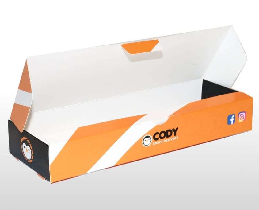 Box da asporto sushi Adaptive